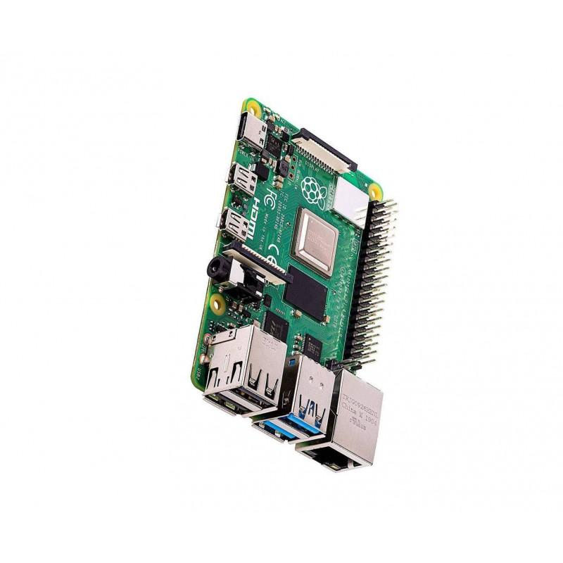 Raspberry Pi 4 basic starter kit, heavy duty aluminium alloy enclosure with fan cooling