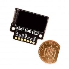 0.96-inch SPI color LCD (160x80) segmentation