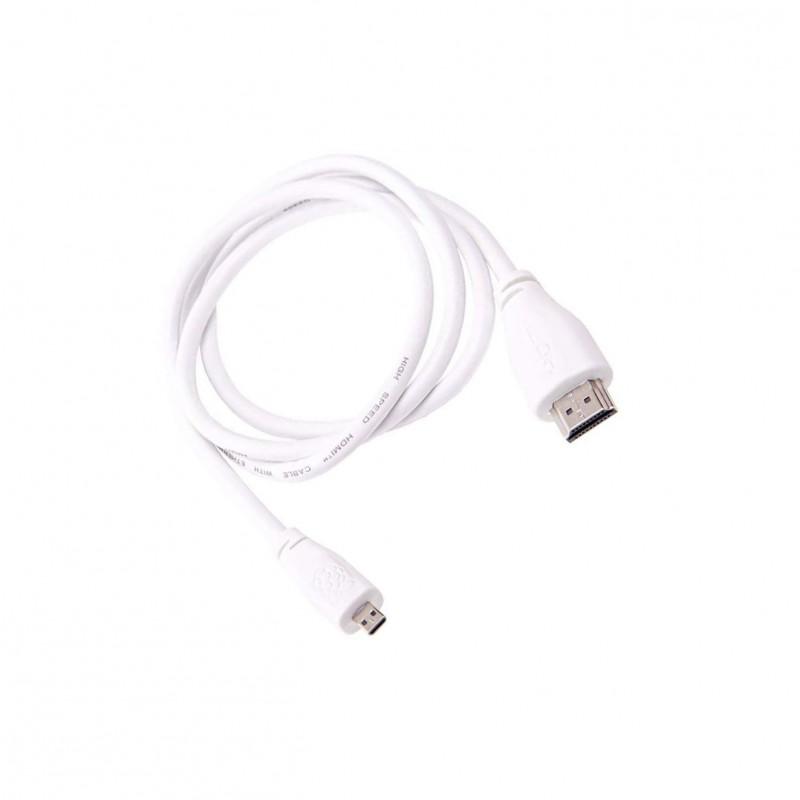 Raspberry Pi 4 Micro-HDMI to HDMI cable